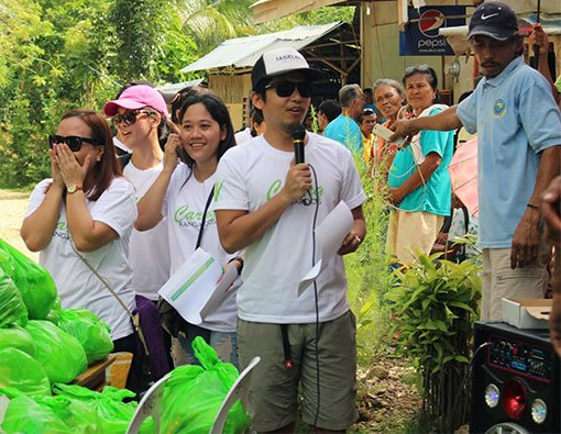 A helping hand for the elderlies of Brgy. Tapul