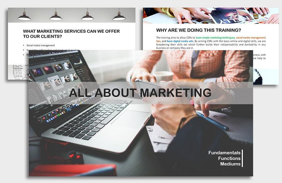 VBP Marketing-Training