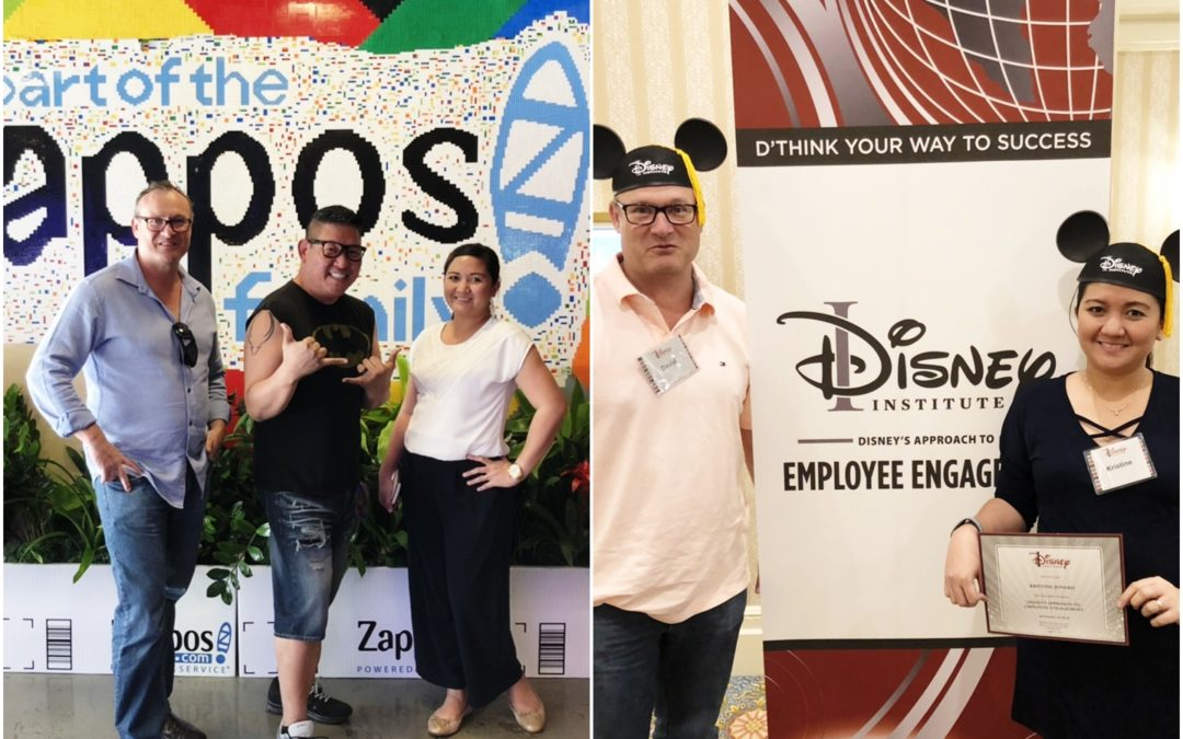 A visit to Zappos and Disney Institute